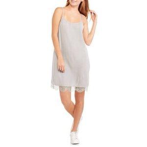 NWT Lingerie/Slip Dress w/Lace Trim (Green)